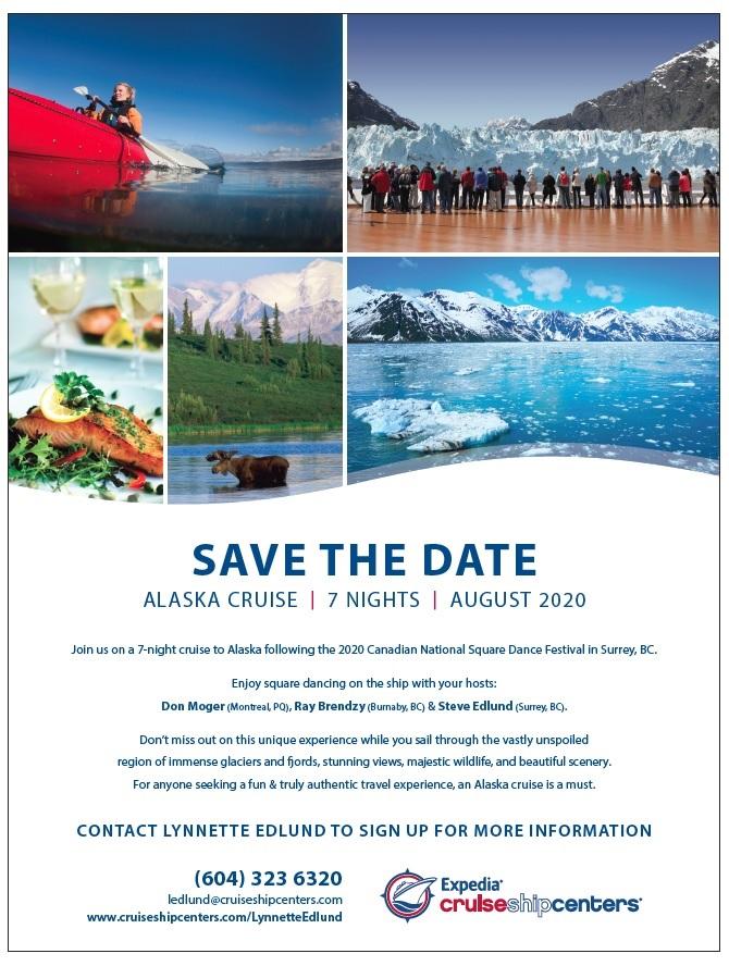Alaska 2020 Save the Date